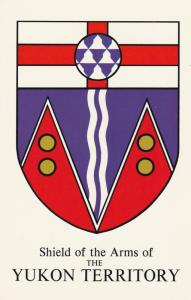 YUKON Territory, Canada, 1940-60s; Shield of the Arms
