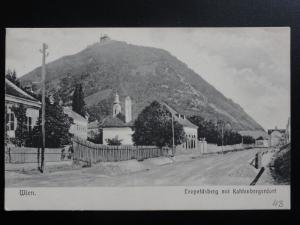 Austria: WEIN Vienna, Leopoldsberg mit Kahlenbergerdorf c1906 - Old Postcard
