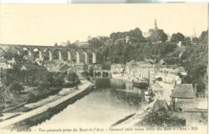 France, Dinan, Vue generale prise du Saut-a-l'Ane, early ...