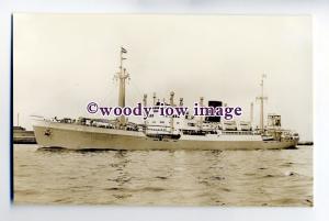 cb0647 - Dutch Rotterdam Lloyd Cargo Ship - Blitar , built 1949 - postcard