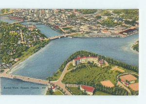 Linen AERIAL VIEW Tampa Florida FL AD0318