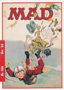 Lime Rock Trade Card Mad Magazine Cover Issue No 106 Oct 1966