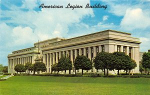 Indianapolis Indiana 1960s Postcard American Legion Building National Headqua...