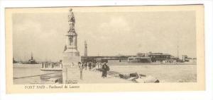 PORT SAID, Egypt, 1910s - Ferdinand de Lesseps