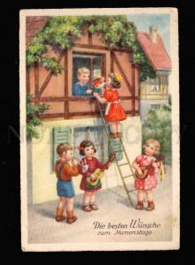 012768 SERENADE of Kids ORCHESTRA w/ MANDOLIN & GUITAR vintage