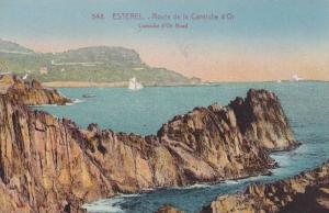 Corniche d'Or Road, Route De La Corniche d'Or, Esterel, France, 1900-1910s
