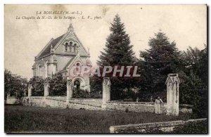La Bohalle Old Postcard Chapel ND of Sallette