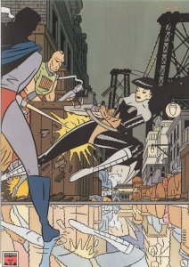 Daniel Torres Scarlet Frente Al Misterio Spanish Comic Postcard