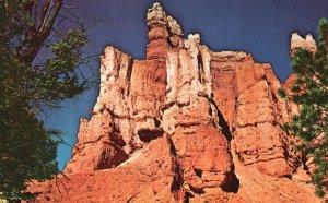 Bryce Canyon Nat'l Park, UT, Gulliver's Castle, Chrome Vintage Postcard g9229