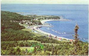 A View of La Gaspesie, Gaspe Peninsula, Quebec, Canada, Chrome