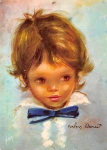 Les Bambins d'Evelyne Wavrant, The Portrait of a Little Boy