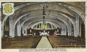 Interior, Saint Joseph's Shrine, Montreal, Canada,  PU_1931