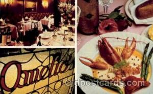 Amelio's San Francisco, California USA, Lobster, Advertising Post Card Post C...