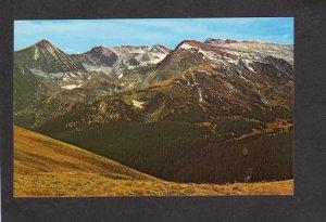 CO Rocky Mountain National Park Gorge Lake Forest Canyon Colorado Postcard