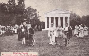 Colchester Pageant, Constantius - Helena - King Coel and Nobles, Essex, Engla...