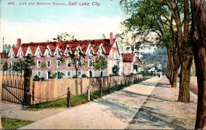 Utah Salt Lake City Lion and Beehive Houses