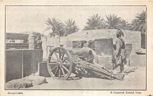 br104318 turkish gun mesopotamia real photo iraq