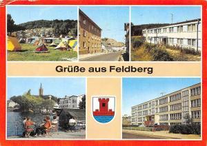 Germany Gruesse aus Feldberg, Campingplatz Am Haussee Erholungsheim Haus Suhr