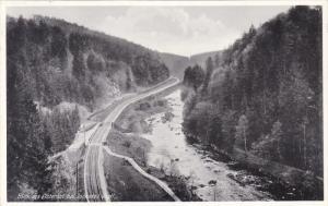 Blick ins Elstertal bei Jocketa / Vogtl. , Germany , PU-1938