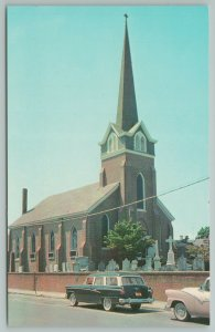 Lewes Delaware~Old St. Peter's Episcopal Church~Vintage Postcard