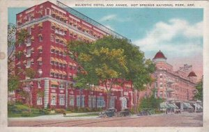 Arkansas Hot Springs National Park Majestic Hotel And Annex 1938