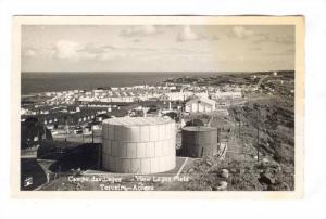 RP ; Oil Tanks, Campo das Lages,View Lages Field,Terceira - Azores, Portugal,...