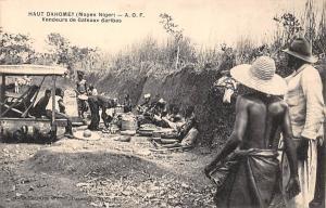 Haut Dahomey Benin Moyen Niger, Vendeursd e Gateaux Baribas