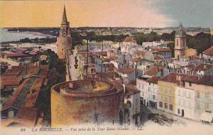 LA ROCHELLE, Vue prise de la Tour Saint-Nicolas, Charente Maritime, France, 0...