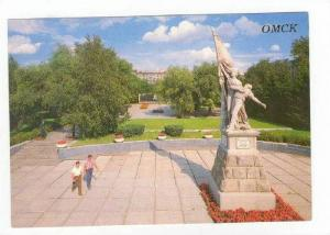 OMSK, Russia, Fighters of the Revolution monument, 1988