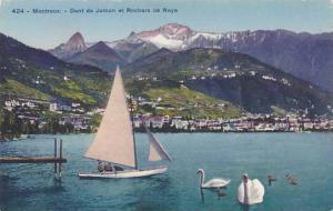 Schweiz Montreux Dent de Jaman et Rochers de Naye