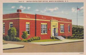 North Carolina North Wilkesboro Post Office