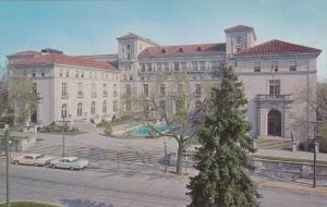 Classic Cars, Fountain Pool, Exterior of Community Building, Theatres & Junio...