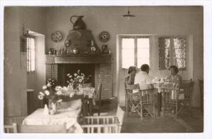 RP  Interior of a home, Corfou, Greece, PU-1963