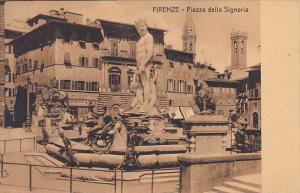 Italy Firenze Florence Piazza della Signoria