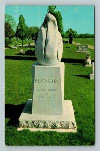 Colon MI- Michigan, Mem Magician Charry Bouton, Blackstone, Chrome Postcard