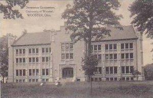 Ohio Wooster Severance Gymnasium University of Wooster Albertype