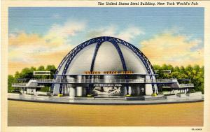 NY - 1939 New York World's Fair. U.S. Steel Building