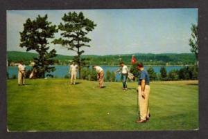 NY Concord Hotel KIAMESHA LAKE NEW YORK Golf Golfing PC