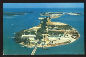 Fort Pierce, Florida/FL Postcard, Causeway Trailer Court
