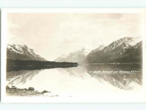 old rppc LAKE BENNETT Carcross - Near Whitehorse Yukon Territory YT W0797