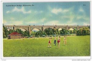Eighth Street Bridge , Allentown , Pennsylvania , 30-40s