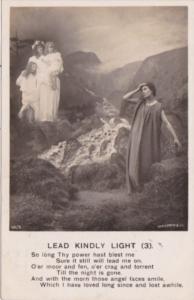 Bamforth Religion Lead Kindly Light No 3 1908
