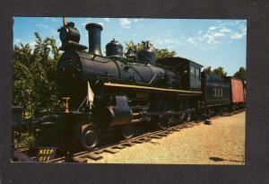 MO MKT Locomotive 311 Missouri Kansas Texas Railroad Train Engine St Louis PC