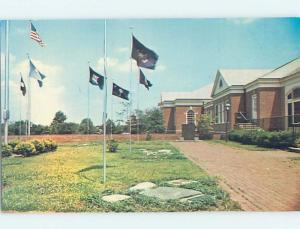 Pre-1980 FLAGS AT FREEDOMS FOUNDATION INDEPENDENCE GARDEN Valley Forge PA F9732