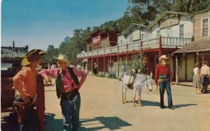 School House Road, Ghostown , KNOTTS BERRY FARM, Buena Vista, California, 50-60s