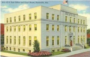Court House, Huntsville, Alabama, 30-40s