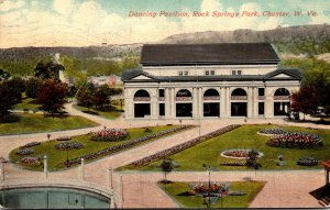 West Virginia Chester Rock Springs Park Dancing Pavilion 1912