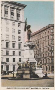 Maisonneuve Monument - Montreal QC, Quebec, Canada - WB