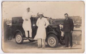 Social History, G Barrett Baker & Confectioner Delivery Van, c 1930's  RP PPC