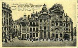 Maison du Grand Duc Bruxelles, Belgium Unused